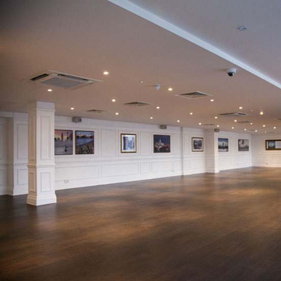 Interior Design Of Function Rooms Overlooking The Thames In London